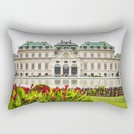 Upper Belvedere Palace, Vienna, Austria Rectangular Pillow