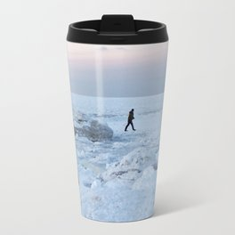 Out on the Ice Travel Mug