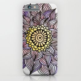 Purink Flower iPhone Case