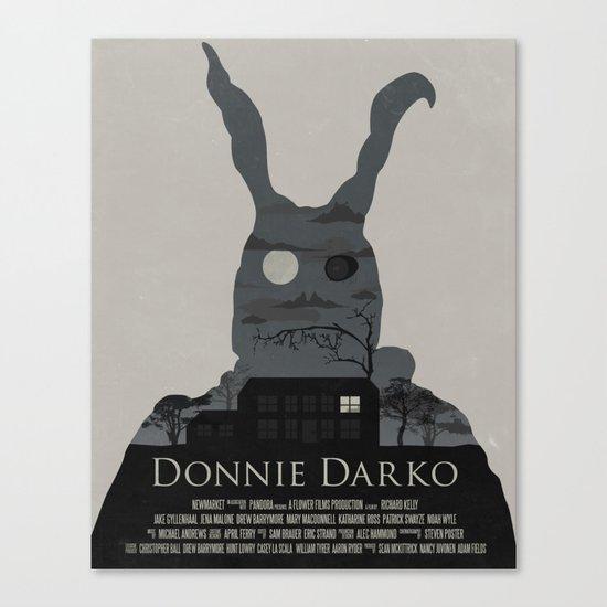 Donnie Darko Poster Canvas Print