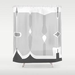 Asymmetry 1 Shower Curtain