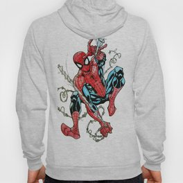 Wall Crawler Spider-Man Hoody