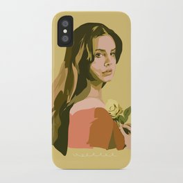 Lana with Rose iPhone Case