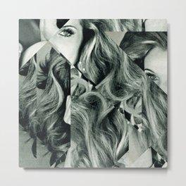 Frau Dreiecke 4 Metal Print