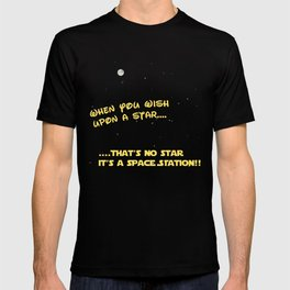 When you wish upon a Star/Space Station T-shirt