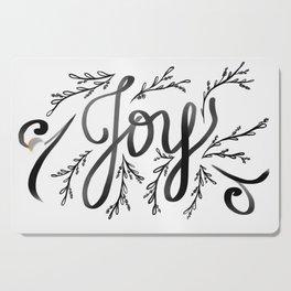 Joy and mistletoe Cutting Board