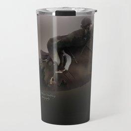 Double Exposure Horse 2 Travel Mug