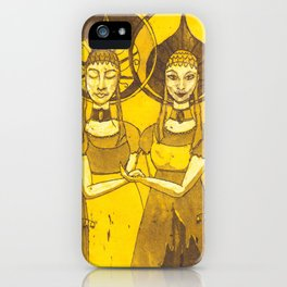 Jumelles iPhone Case