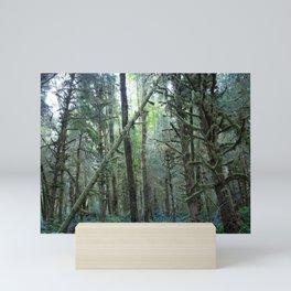 Forest Dark, Forest Deep II Mini Art Print