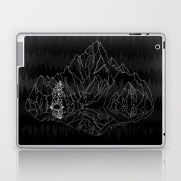 Mountains Lines and Bear Laptop & iPad Skin
