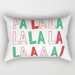 FA LA LA LA LA CHRISTMAS Rectangular Pillow