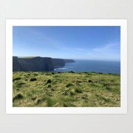 Cliffs of Moher Ireland Art Print