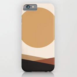 NUOVO GIORNO - the NEW DAY - Modern abstract art iPhone Case