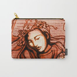 Romantic Ophelia Carry-All Pouch