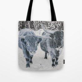 Scotish Highland cattle Tote Bag