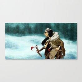 Northern Warrior Canvas Print