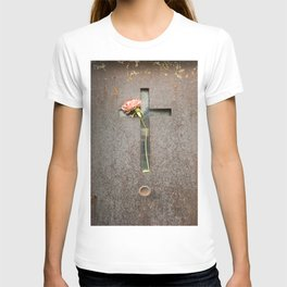 Flower and Rust T-shirt
