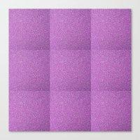 glitter Canvas Prints featuring Glitter by mailboxdisco