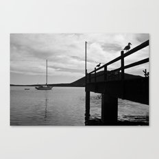 In the bay... Canvas Print