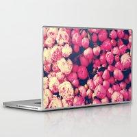 peonies Laptop & iPad Skins featuring Peonies by Sasha H
