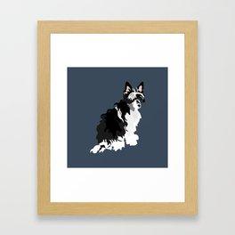 Shaggy Dog Framed Art Print
