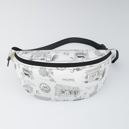 Squirrels and Pigeons take NY Fanny Pack
