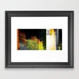 Asas de Terra - ALEGRIA Framed Art Print