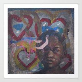 Swazi Art 8 Art Print
