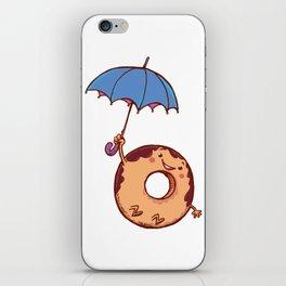 donut in air iPhone Skin