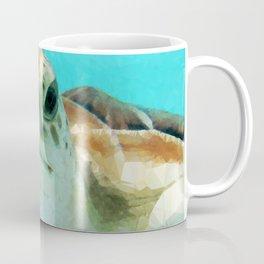 Geometric Sea Turtle Coffee Mug