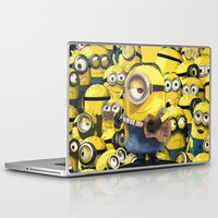 minions Laptop & iPad Skins featuring MINIONS by DisPrints