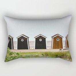 Beach Houses France Rectangular Pillow