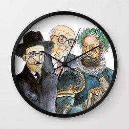 .poetas. Wall Clock