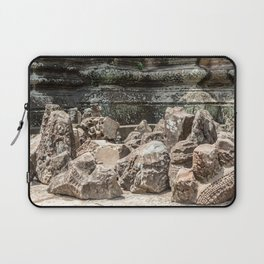 Angkor Wat, Stones in the Courtyard, Cambodia Laptop Sleeve