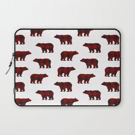 Lumberjack Bears Laptop Sleeve