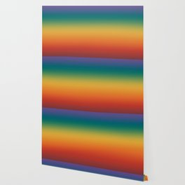 Colorful Gradient Pattern Abstract Rainbow Wallpaper