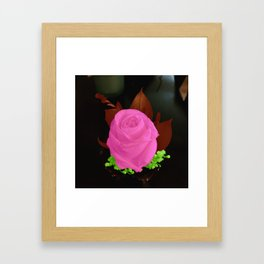 Boutonniere in Color Framed Art Print