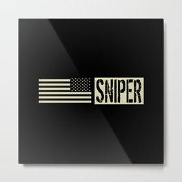 U.S. Military: Sniper Metal Print