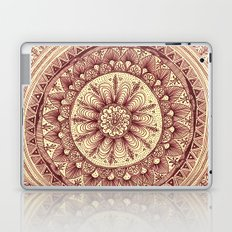 mandala: maroon Laptop & iPad Skin