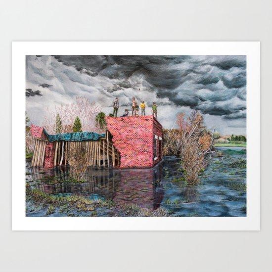Water Wall Art Print