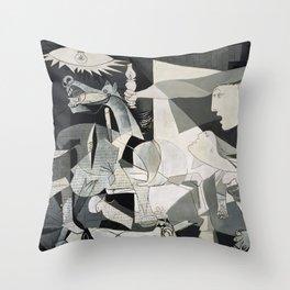 Picasso - Guernica  Throw Pillow