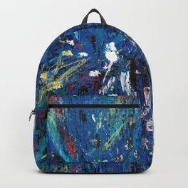 wood flower Backpack