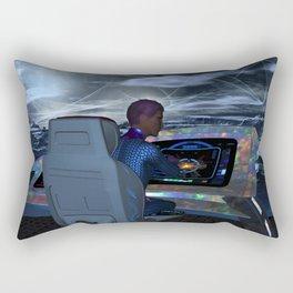 Planetary Exploration Rectangular Pillow