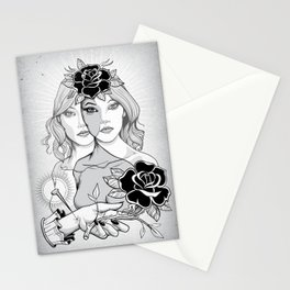 Destot's Space Stationery Cards