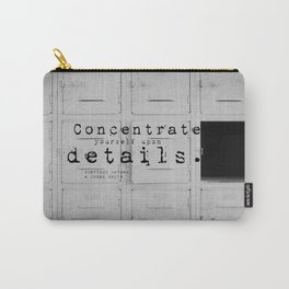 Details Sherlock Holmes Carry-All Pouch