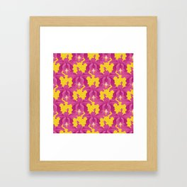 Exotic Orchid Framed Art Print