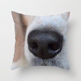 Snoot Throw Pillow