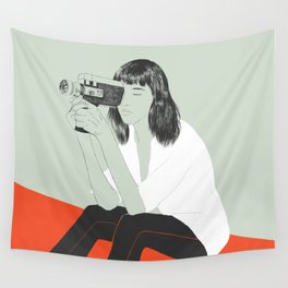 Super 8 Wall Tapestry