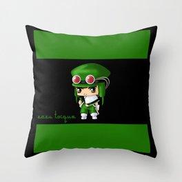 Chibi Zazu Throw Pillow