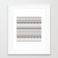 navajo Framed Art Prints featuring Navajo by Julie